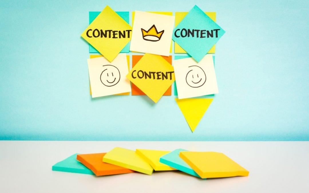 marketing de contenido en una agencia de marketing digital blog