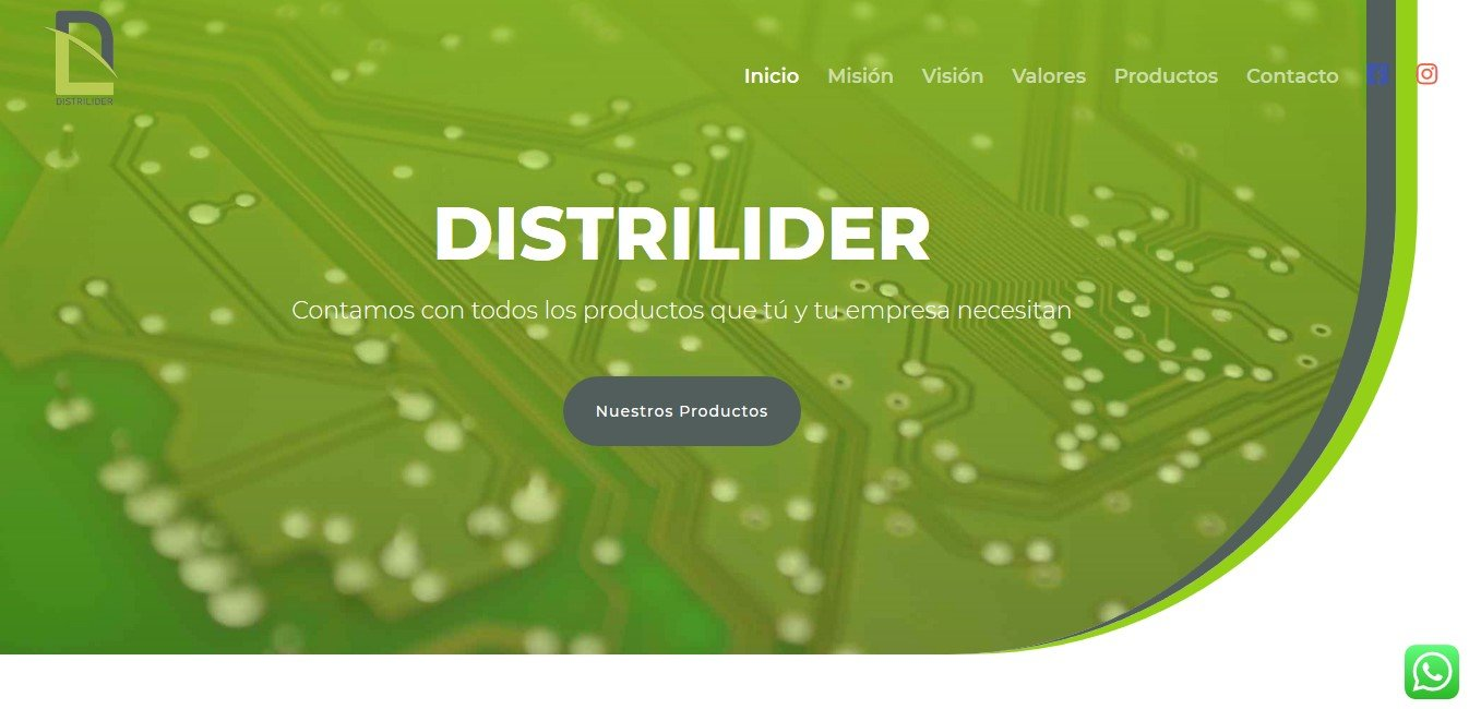 web distrilider